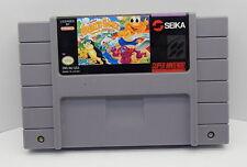 Super Nintendo The Super Aquatic Games Starring The Aquabats Game Cartridge, Wor
