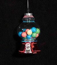 Mercury Glass Gumball Machine Christmas Ornament - NWT