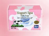 YOKO SPA MILK BATH BODY SOAP MOISTURIZING WHITENING ANTI-WRINKLE YOGURT SPA SKIN