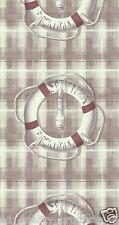 LUTECE papier peint , bouée de sauvetage Design, rouge, Caractéristique mur,