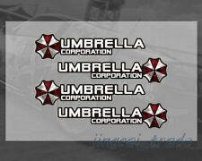 Satz (4 stück) Umbrella Corporation Logo Auto SUV Türgriff Aufkleber