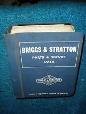 Briggs & Stratton  Parts & Service Manual