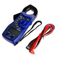 New LCD Voltmeter Ammeter Ohmmeter Volt AC DC Tester Digital Clamp Multimeter