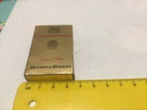 Collectable benson and hedges match box
