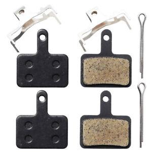 Tektro Auriga / Aquila Bicycle Semi Metal Resin Disc Brake Pads - 2 Pairs