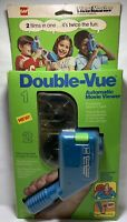 GAF VIEW MASTER 70's DOUBLE VUE AUTOMATIC MOVIE VIEWER Superman & Roadrunner NIB