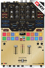 Pioneer DJM-S9 Skin brushed gold