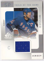 2000-01 SP Game Used Tools of the Game #MM Mark Messier Jersey