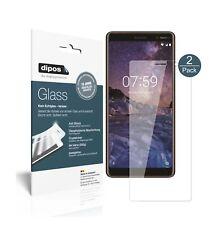 2x Nokia 7 Plus Protector de Pantalla Vidrio Flexible Cristal Proteccion 9H