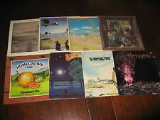 8 SEALED Classic Rock Record LOT Homegrown Local SoCal Series 1970s Set