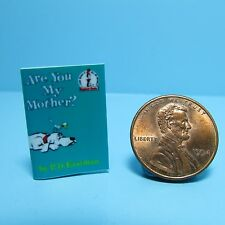 Dollhouse Miniature Replica of Book Dr Seuss Are You My Mother? ~ B005
