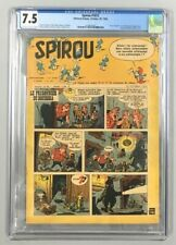 Spirou #1072 CGC 7.5 2nd Smurfs Appearance, 1st Smurfs Cover