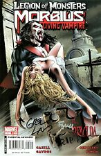 Legion Of Monsters Morbius #1 Signed By Artist Greg Land & David Finch