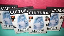EL ARTE - 4 DVDS - ATRAVES DE LOS TIEMPOS -