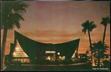 SCOTTSDALE AZ Trader Vic's Restaurant Sunset Postcard Old Arizona PC