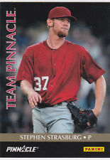 Stephen Strasburg & Bryce Harper DUAL INSERT Baseball Card NATS Team Pinnacle!