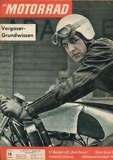"""M6218 + TT-Marshal-AJS """"Road-Burner"""" + Das MOTORRAD Nr. 18 vom 1.9.1962"""