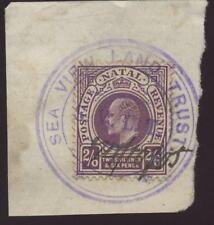 Natal 1905 ke7th 2/6 utilisé fiscalement.. vue sur mer confiance de terre