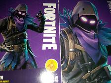 Fortnite 284  Raven Legendary Outfit Card #284 Panini