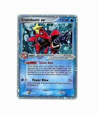 Crawdaunt ex 99/110 - Ultra Rare Holo - Ex Holon Phantoms