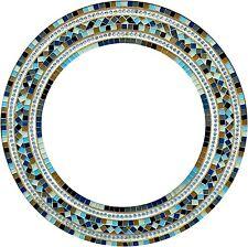 Zorigs Mirror Wall Art Décor – Handcrafted Decorative Wall Mirror, Light Brown