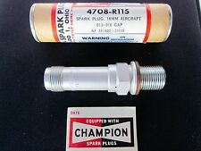 CHAMPION Aircraft SPARK PLUG - Continental Lycoming Part # 4708-R115 - NEW