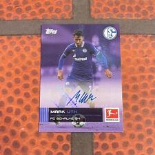 Topps Stars der Saison / Bundesliga - Mark Uth Auto /25 - Schalke 04 - Autogramm