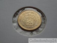 Gold Coin / Gouden Munt Netherlands 5 Gulden 1912 Nr: P5204