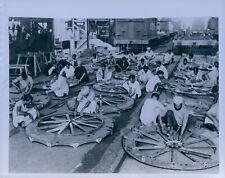 1942 INDIA Industry Gun Firing Platforms Assembly Press Photo