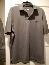 Men's Callaway Polo Golf Tshirt Size Medium New