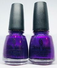 China Glaze Nail Polish COCONUT KISS 567 True Purple Mage Shimmer Lacquer