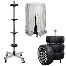 Carrello porta pneumatici gomme , con ruote porta cerchi pneumatici invernali