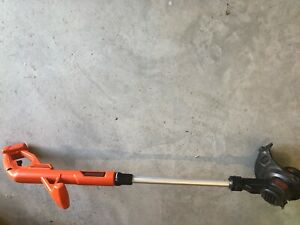 Black and Decker weed eater. Great for small yards!