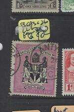 BRITISH CENTRAL AFRICA (PP2501B)  ARMS 2/6 SG 26 LL CORNER TORN  FU