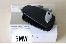 Portachiavi Ciondolo Custodia In Pelle/custodia M Sport Nero per BMW