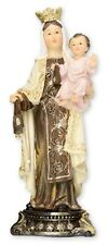 OUR LADY OF MOUNT CARMEL 130mm STATUE - CRUCIFIXES CANDLES PICTURES LISTED 941
