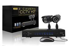 Professional  4 ch. CCTV Network H.264, 100 FPS DVR 500GB FULL 2 Camera KIT