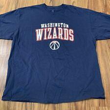 Washington Wizards Mens Shirt 2xl Fanatics Blue Basketball
