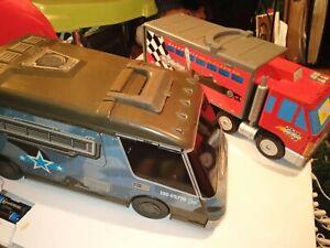 Micro Machines Truck Play Set Track Grand Prix & army vehicle set