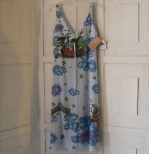 Butterfly Dropout Maxi Dress Sz XS NWTS Medieval Viking Boat Fantasy Hippie $119