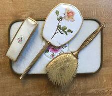 Lovely Vintage Vanity / Grooming Set