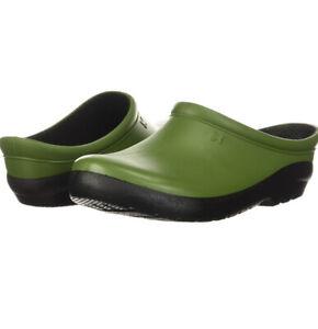 Sloggers Women's Premium Garden Clog Kiwi Green Size 10