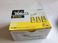 Ideal 30-074 Wire-Nut 74B Yellow (100 Pcs Per Box)