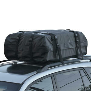 Waterproof Rooftop Rack Cargo Carrier for Travel Luggage Storage Motor Trend