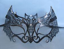 Black Bat Filigree Metal Venetian Party Masquerade Mask Express Post