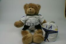 Build a Bear Teddy Bear With Star Wars Storm Trooper 2 Piece Outfit s4