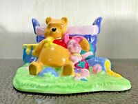 Vintage Rare Winnie The Pooh and Piglet Planter