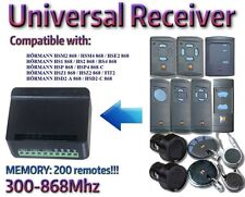 Universal receiver compatible with Hörmann Rolling Fixed code 300Mhz-868Mhz