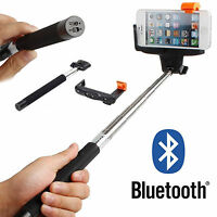 Adjustable Bluetooth Wireless Remote Shutter Selfie Stick Monopod Mount Holder