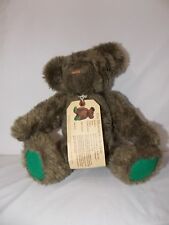 Museum Collection Green Paws Teddy Bear North American Bear Plush Stuffed 10""